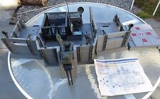 Vtg 1983 GI JOE Headquarters Command base Complete w instructions Hasbro 3 3/4""