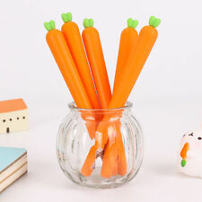 2pc Novelty cute carrot Ball Point Ballpoint Pen Office Stationery gift