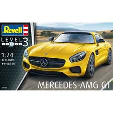 Revell 1:24 Scale Mercedes AMG GT Model Car Kit - 07028