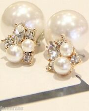 Dual Pearl Fashion Earrings