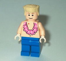 TOWN/CITY Lego Hawiian Boy with Lei NEW Flesh,Hula,Beach,shirtless,flesh