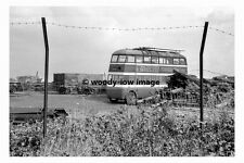 pt8953 - Doncaster Trollybus no 338 at Bells Scrapyard in 1954 - photograph 6x4