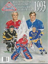 1993 NHL 44th  All-Star Game  Montreal Canadians  Commemorative Magazine-115 pgs