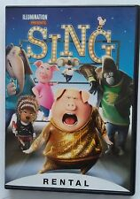 Sing - DVD - Rental Version - Opened not watched - Ships 3-21