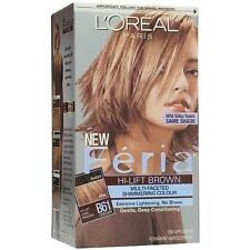 L'Oreal Feria Hair Color #B61, Hi-Lift Cool Brown (Pack of 3)