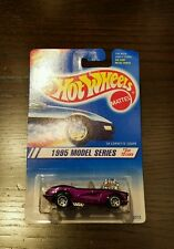 New! Hot Wheels- '58 Corvette Coupe - Purple -1995 Model Series - Collector #342