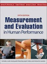 Measurement and Evaluation in Human Performance With Web Study Guide 5th Editio