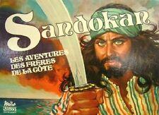 Jeu de société Sandokan - Les aventures des frères de la côte - Miro - 1977
