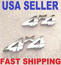 x2 Chrome 4 X 4 EMBLEM MAYBACH Tesla logo ASTON MARTIN DECAL lotus BADGE sign