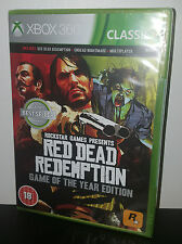 Red Dead Redemption GOTY Game of the Year Edition-XBOX 360 GAME NUOVO SIGILLATO