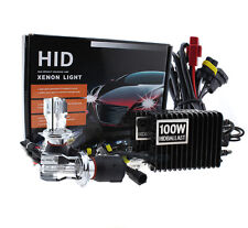 100W H4  Bi-Xenon Hi/Lo Beam 6000K White Xenon HID Conversion Kit Car Headlights