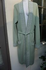 FERAUD 40 38 S M 6 8 knitted coat Neiman Marcus green Saks wool Nordstrom