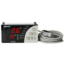 Regulador de temperatura y humedad Termostato Auto Luz Ventilador MTC-6040