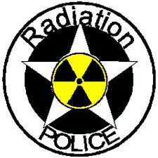 HARD HAT STICKERS, RADIATION PROTECTION STICKERS, NUKE STICKERS N-39
