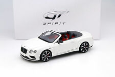 Bentley Continental GT v8 s cabriolet blanco 1:18 GT-Spirit