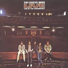 THE GUESS WHO  --- Live at The Paramount --- BRAND NEW CD