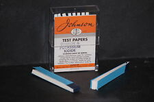 Starch & Potassium Iodide Indicator Paper 40 strips in 2 books Brand New