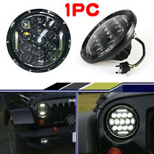 75W 7INCH CREE LED Headlight DRL For Jeep Wrangler JK TJ LJ CJ Harley Kenworth