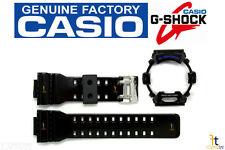 CASIO G-8900A-1 G-Shock Original Black (Glossy) Rubber Watch BAND & BEZEL Combo