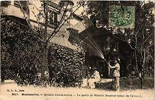 CPA Paris 18e Montmartre Jardin de Maurice Neumont (284248)