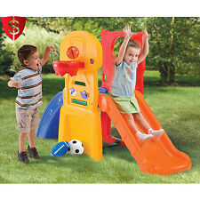 Kids Toddler Slide Playground Indoor Outdoor Soccer Basketball Toy Climb Step2