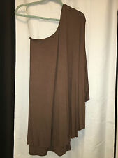 NWT BLAQUE LABEL ONE SHOULDER DRAPE CAPE STYLE PARTY DRESS S SMALL