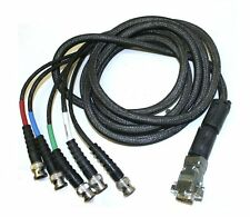 RGB  BNC to VGA Cables 8' Lot of 12