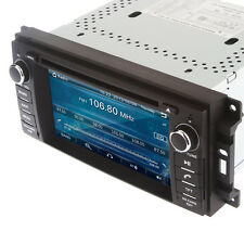 Car Radio Stereo for Chrysler/Jeep/Dodge RAM DVD CD GPS Headunit + Free Camera