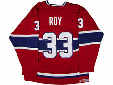 Montreal Canadiens Patrick Roy CCM NHL CN Heroes Hockey Jersey L - NEW
