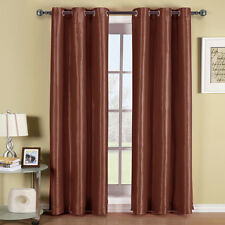 Solid Soho Grommet Blackout Window Curtain Panel