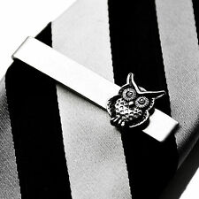 Owl Tie Clip - Tie Bar - Tie Clasp - Business Gift - Handmade - Gift Box