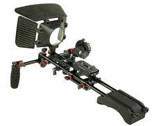 DSLR Camera Shoulder Mount rig Follow focus Mattebox handheld kit for Camcorders