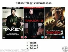 TAKEN TRILOGY DVD MOVIE FILM COLLECTION PART 1 2 3 Liam Neeson NEw Sealed UK