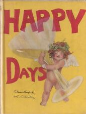 """HAPPY DAYS"" (1917) Herford & Clay HUMOROUS POEMS Beautifully Illustrated"