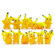 12PCS/Set Pokemon PVC Pikachu Figure Toys Doll Collection