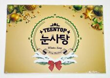 TEEN TOP - TEEN TOP Snow Kiss CD K-POP KPOP