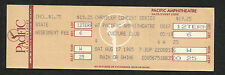 1985 Culture Club full concert ticket Boy George Costa Mesa Kissing To Be Clever