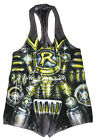 WWE RYBACK RING WORN HAND SIGNED SINGLET WITH PROOF AND COA 1