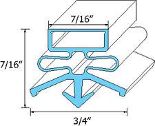 """DOOR GASKET 24-3/8"""" X 26"""" Snap-In Mount Blk for True Refrigerator TPP-67 741060"""