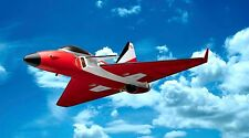 Kyosho RC Brushless Electric Ducted Fan-Powered Jet Mirage DF45 - Red - 10115B