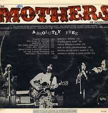 "MOTHERS OF INVENTION ""ABSOLUTELY FREE"" ORIG FR 1967 RARE"