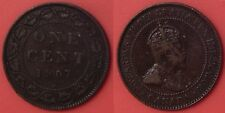 Very Fine 1907H Canada Large 1 Cent