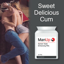 MAN UP SEMEN TASTING CAPSULES SWEET DELICIOUS CUM TASTE GREAT FLAVOUR SPERM