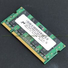 Micron 2GB PC2-6400 DDR2-800 800MHz DDR2 200pin Laptop Notebook memory So-DIMM