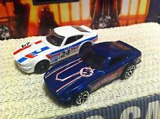 Hot Wheels Lot DATSUN 240Z  '15 Workshop & '07 HW Racing JDM Import MINT Loose