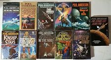 Lot of 11 Vintage Poul Anderson Sci-Fi Books - Cold Victory, Mauri & Kith ++++