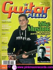 GUITAR CLUB  N°5/2002 MIKE MUSHOK PROVE BOSS FENDER GIBSON HERITAGE IBANEZ