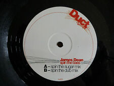 "JAMES DEAN - Spin The Bass 2006 12"" Vinyl. DUCT002."