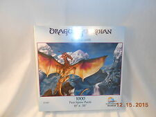 "NEW! 1000-piece Jigsaw Puzzle ""Dragon Guardian"" by SunsOut 63560"