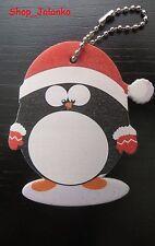 PINGUIN Weihnachtsnagelfeile Weihnacht Nagel Feile Christmas Schlüsselanhänger